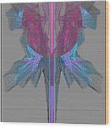 Vibrant Expressions II Wood Print