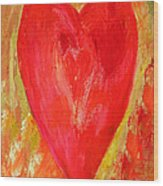 Vibrant Love Wood Print
