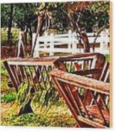 Vibrant Upcountry Wood Print