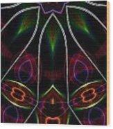 Vibrational Tendencies Wood Print