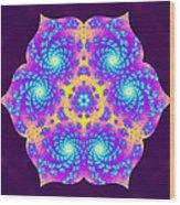 Vibrations Of Khufu Wood Print by Derek Gedney