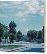 Vicenza Italy 3 1962 Wood Print