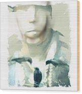 Victim Of The Heart Wood Print by Bob Salo