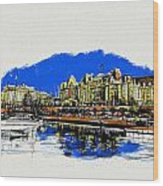 Victoria Art 011 Wood Print
