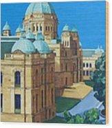 Victoria Bc Parliament Wood Print