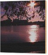 Victoria British Columbia Sunset Wood Print
