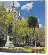 Victoria Embankment Gardens In London Uk Wood Print