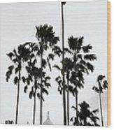 The Victoria Memorial Wood Print