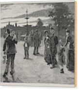 Victoria Park, London, Canada Wood Print