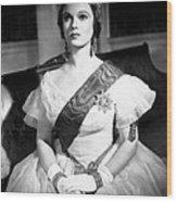 Victoria The Great, Anna Neagle, 1937 Wood Print
