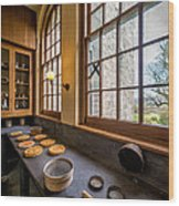 Victorian Baking Wood Print by Adrian Evans
