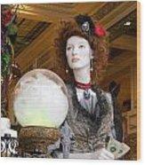 Victorian Fortune Teller Wood Print
