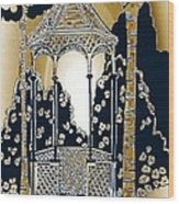 Victorian Gazebo 79 II Wood Print