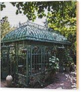 Victorian Greenhouse Wood Print