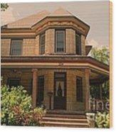 Victorian Home 2 Wood Print