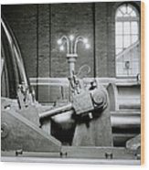 The Machine Wood Print