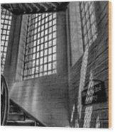 Victorian Jail Staircase V2 Wood Print
