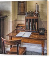 Victorian Medical Office Wood Print