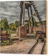 Victorian Mine Wood Print