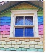 Victorian Rainbow Wood Print