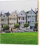 San Francisco Architecture Wood Print