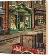 Victorian Town Wood Print