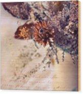 Victorian Treatment Wood Print