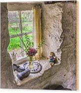 Victorian Window Wood Print by Adrian Evans