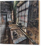 Victorian Workshops Wood Print by Adrian Evans