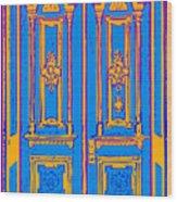 Victoriandoorpopart Wood Print