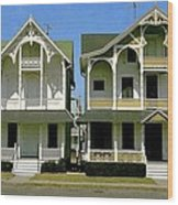 Victorians At Ocean Grove New Jersey Wood Print