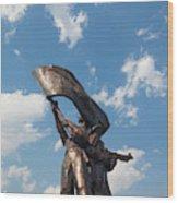 Victory Monument, Dien Bien Phu, Vietnam Wood Print