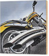 Victory Motorcycle 106 Vertical Wood Print