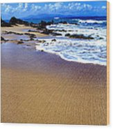 Vieques Beach Wood Print by Thomas R Fletcher