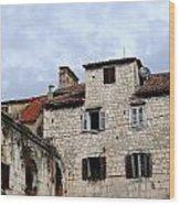 Vies Of Split Croatia Wood Print