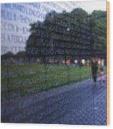 Vietnam War Memorial Wood Print