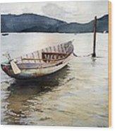 Vietnam Waters Wood Print