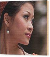 Vietnamese Bride 12 Wood Print