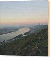 View - East Walnut Hills Wood Print