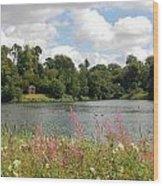 View At Bowood Wood Print