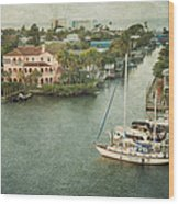 View At Fort Myers Beach - Florida Wood Print