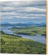 View From Bald Mountain Wood Print