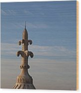 View From Basilica Of The Sacred Heart Of Paris - Sacre Coeur - Paris France - 011323 Wood Print