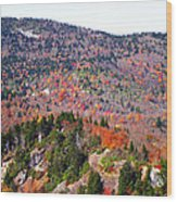View From Devil's Courthouse 3 Wood Print