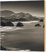 View From Ecola Wood Print