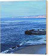 View From La Jolla Wood Print