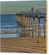 View From Saltburn Pier Wood Print