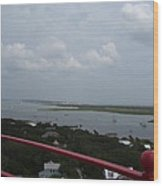 View From St. Augustine Light Wood Print