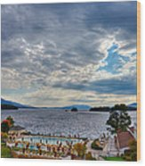 View From The Balcony Suite - Sagamore Resort Wood Print