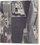 View From The World Trade Center Wood Print